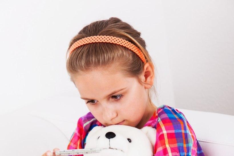 Kuidas lapsel viirusega kaasnevat palavikku alandada?