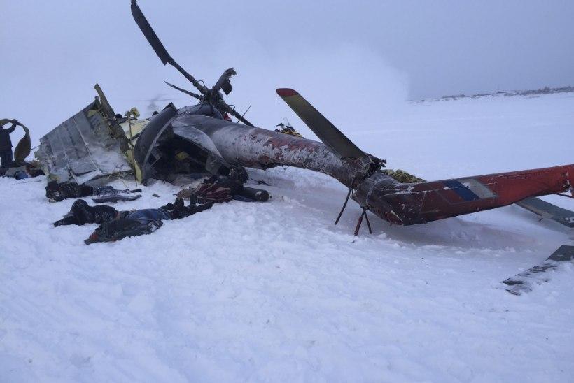 Vene kopteriõnnetuses hukkus 10 inimest
