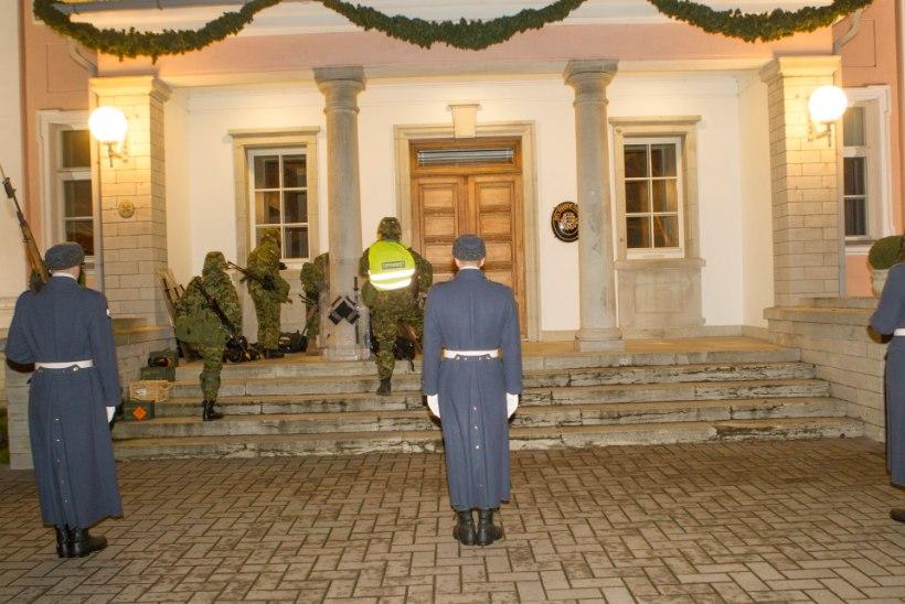 FOTOD | Kadriorus toimus õppus presidendi kaitsmiseks
