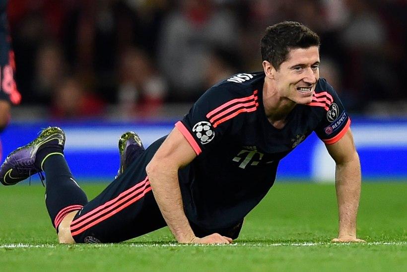Haavatud Bayern peab taltsutama Kahurimehi