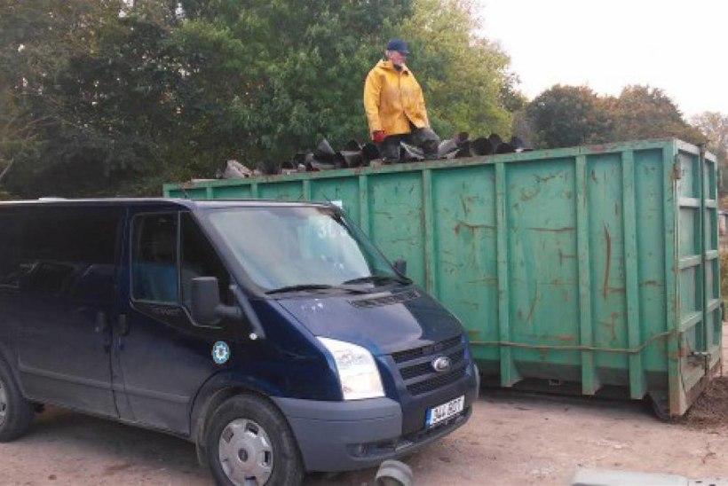 Narva jõest eemaldati veel ligi neli tuhat ebaseaduslikku silmutorbikut