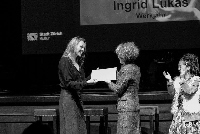 Ingrid Lukas pälvis maineka Šveitsi muusikapreemia