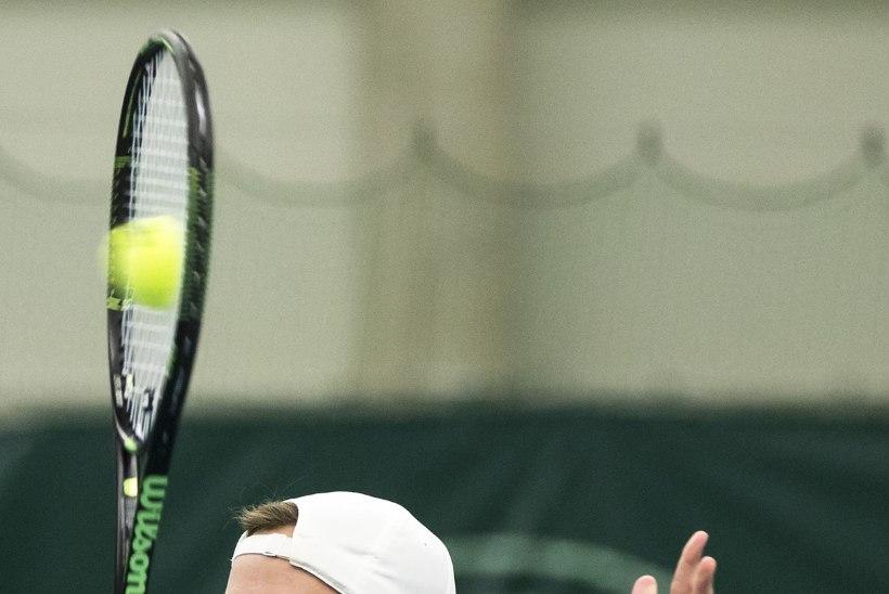 Ivanov jõudis üksikmängus veerand-, Raisma paarismängus poolfinaali