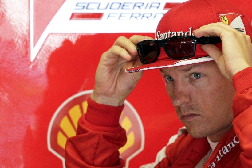 Ferrari ei lase Räikkönenil rahus elu esimest isadepäeva tähistada