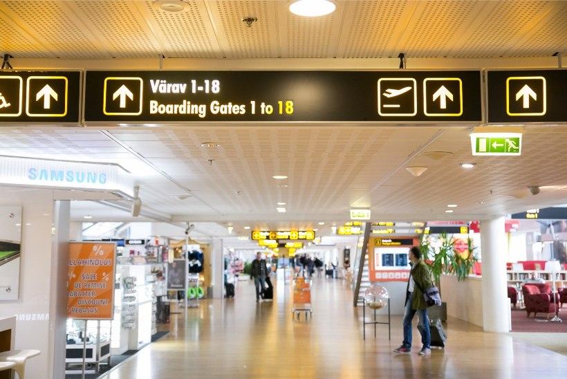 Tallinna lennujaamas valitses hommikul suur segadus