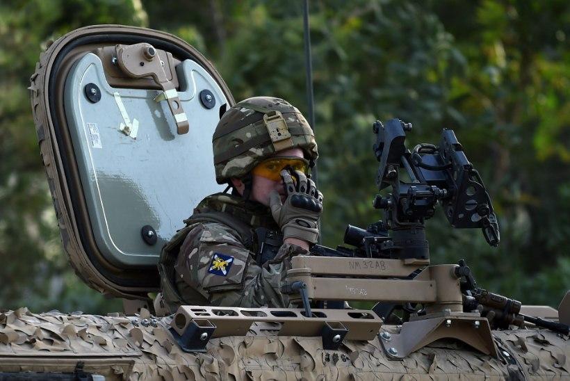 Suurbritannia ühendab Põhjamaad ja kolm Balti riiki oma eriti paindliku väekontingendiga
