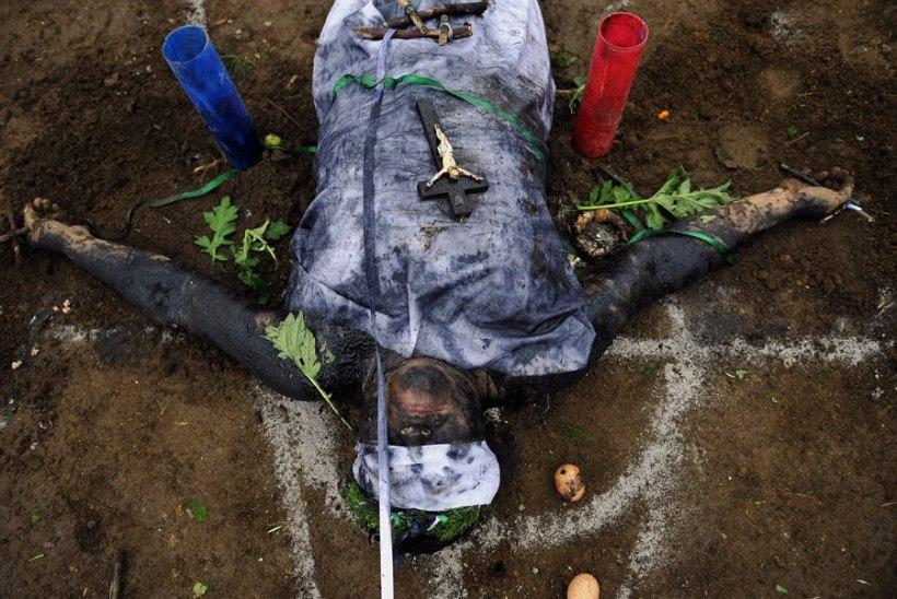 Frankfurdis tapsid korealased kurje vaime välja ajades oma ema