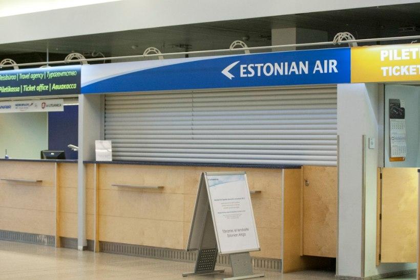 Töötukassa juhatus lühendas Estonian Airi kollektiivse koondamise tähtaega