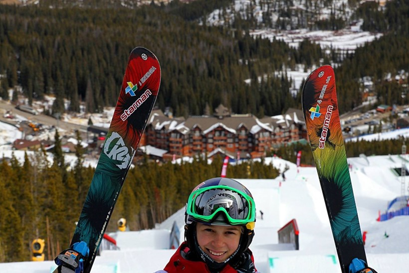 Kelly Sildaru näitas olümpiamedalivormi