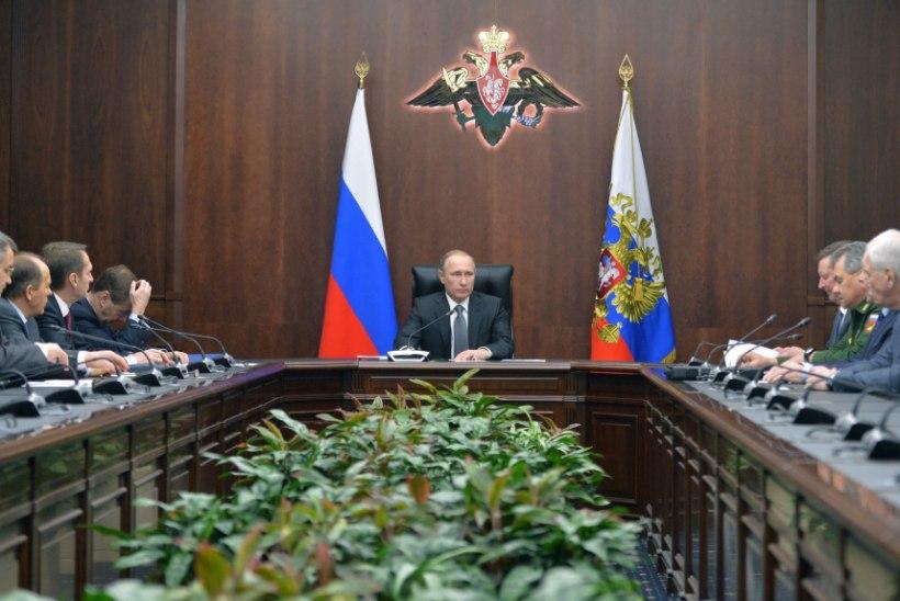 Putin: Süürias Vene sõdureid ohustavad jõud tuleb kohe kahjutuks teha