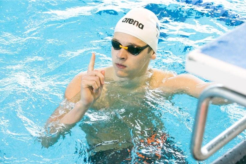 16aastane Kregor Zirk purustas seitse aastat vana rahvusrekordi