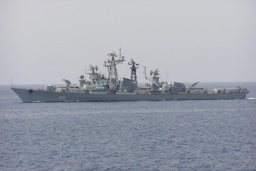 Venemaa sõjalaev avas Türgi aluse pihta hoiatustule