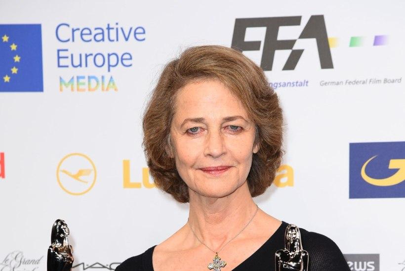 Charlotte Rampling on Euroopa parim näitlejanna