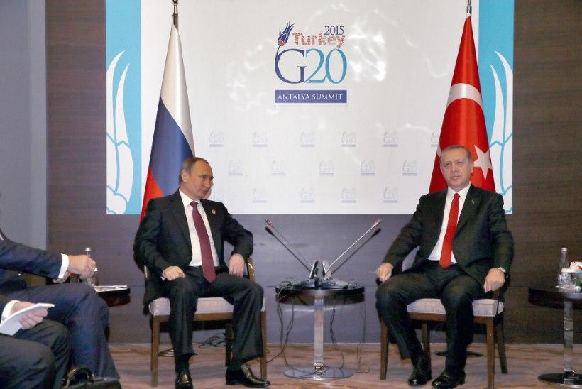 Putin: Venemaa ja Türgi tippkohtumine jääb ära