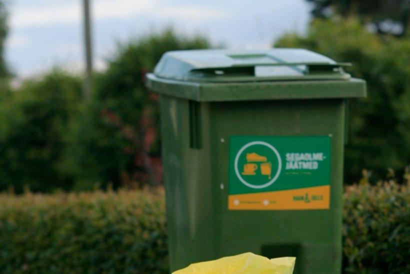 Eramajadele muutub jäätmete sorteerimine lihtsamaks kui iial varem