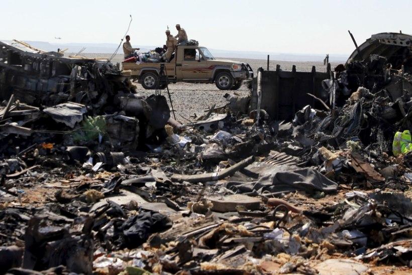 Egiptus: miski ei kinnita, et Vene lennukihukk Siinai kohal oli terroritegu