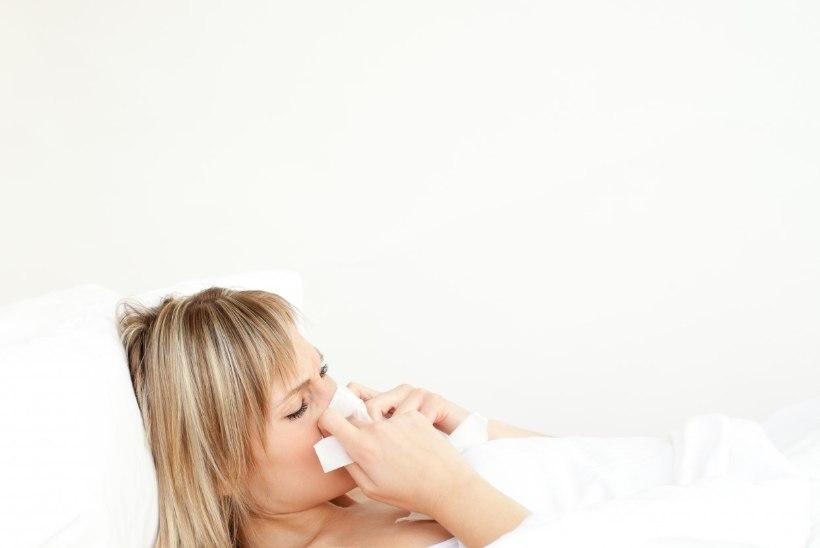 Gripp nõuab tähelepanu