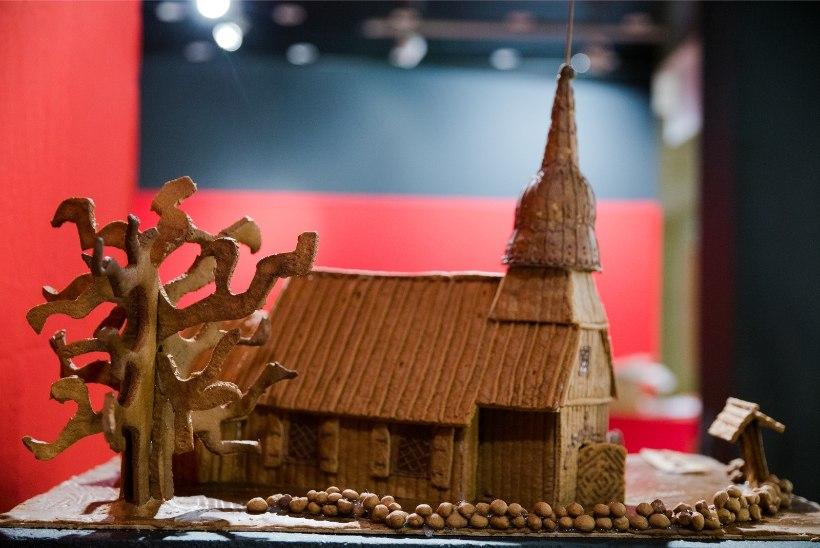 GALERII | Vaata Piparkoogimaania magusa näituse ülespanekut!