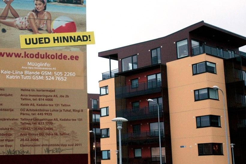 Maa-amet: korterite hinnad ja turg jagunevad Eestis väga ebaühtlaselt