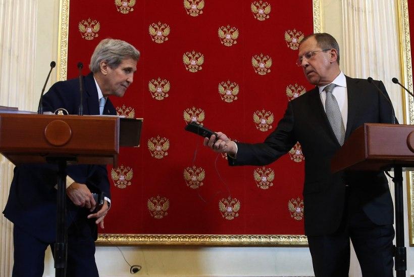 John Kerry jäi Moskva-visiidiga rahule