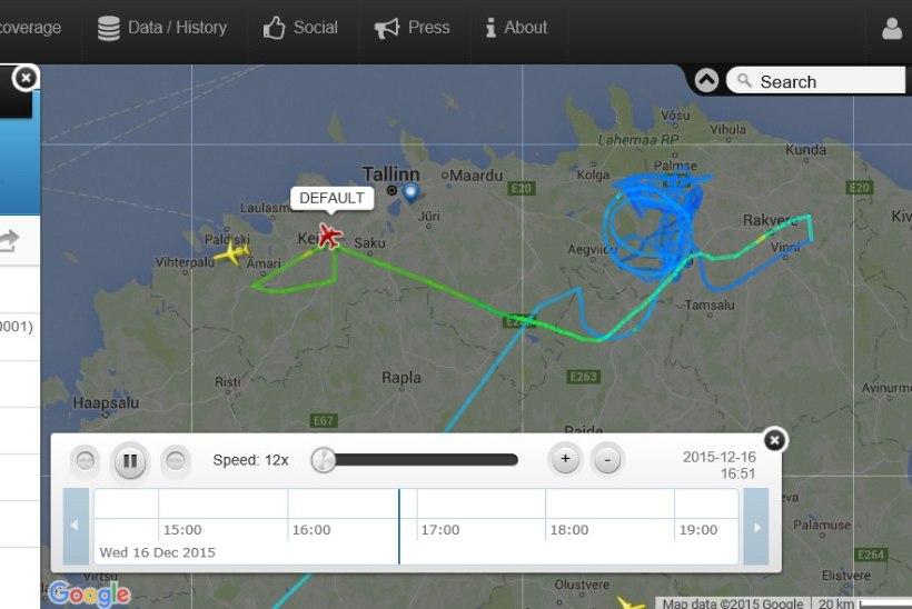 ÕHUVÄGI SELGITAB: Tapa kohal tiirutanud tundmatu lennuk oli tehniline aps