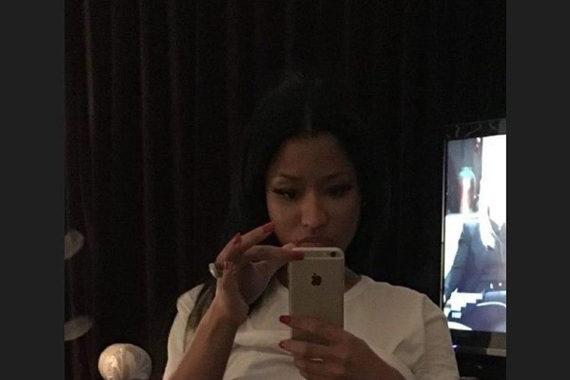 PILTUUDIS | Kõmuline foto: Nicki Minaj poseeris paar numbrit väiksemates aluspükstes