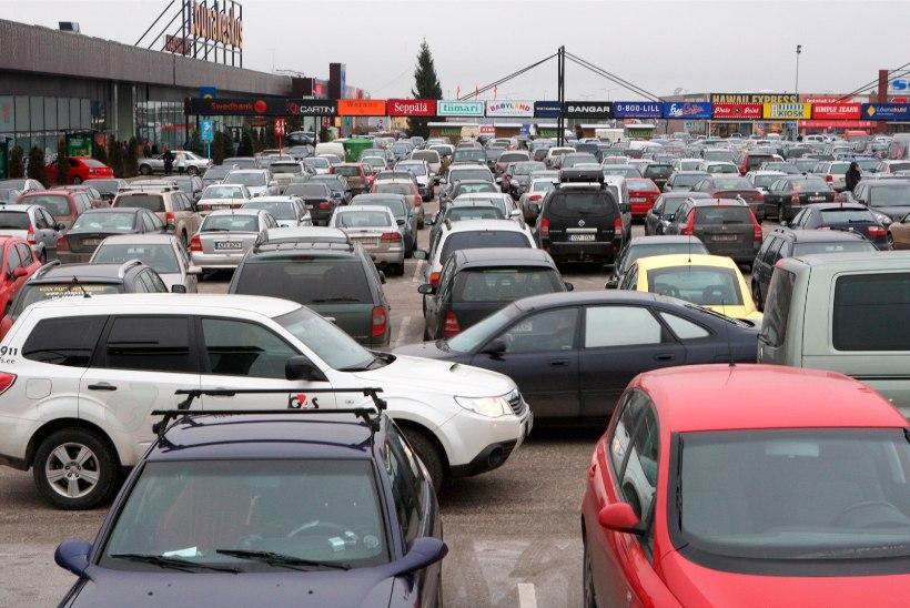 Mis pani kümned alarmid autoparklas korraga tööle?