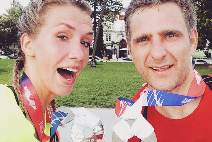 ÕHTULEHE VIDEO | Anni Rahula: käisin oma sünnipäeval Miamis heategevusjooksul