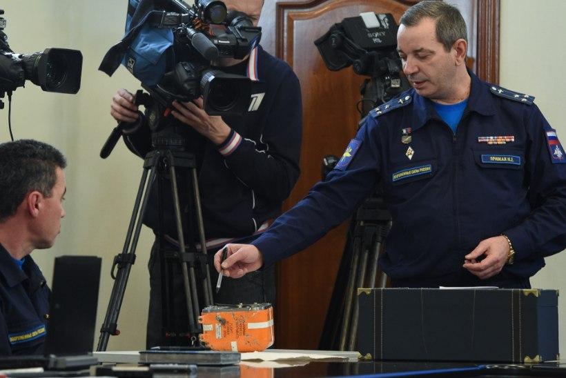 Vene uurimisorganid: Su-24 musta kasti mälukaart on kahjustatud