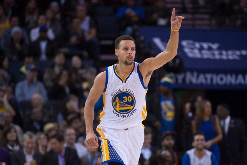 VIDEO   Steph Curry hullab taas! Warriorsi äss andis edeva korvisöödu
