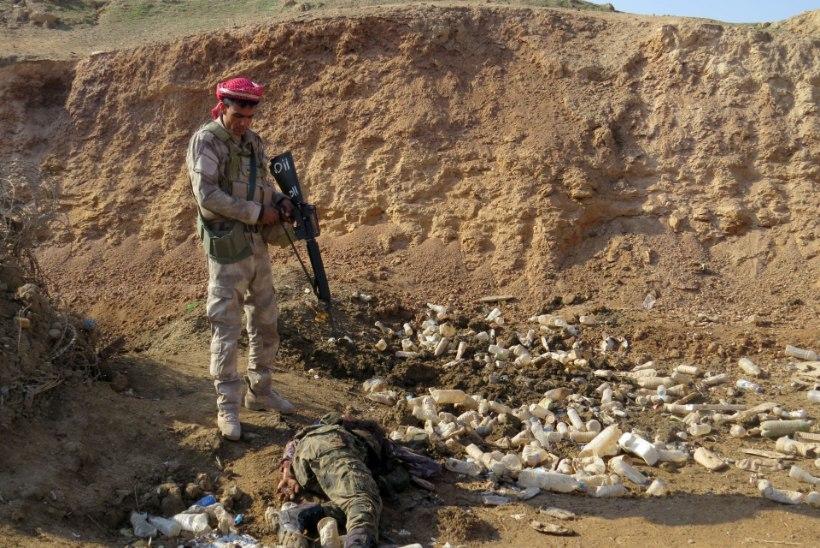 FOTOD   Islamiriik korraldas Iraagis viimase viie kuu võimsaima rünnaku