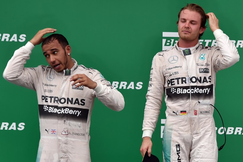 Mercedese boss: kui Hamilton ja Rosberg tülitsemist jätkavad, võime kaaluda ühe minema saatmist