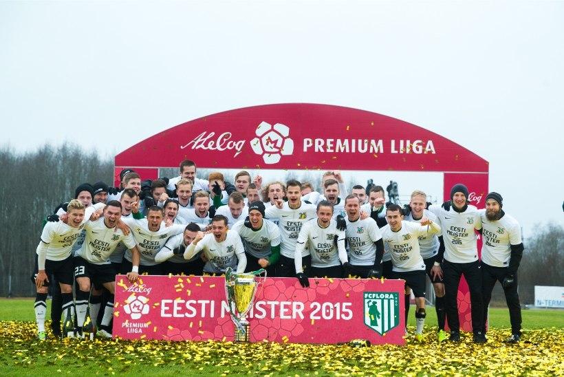FC Flora jätkab tiitli toonud rivistusega