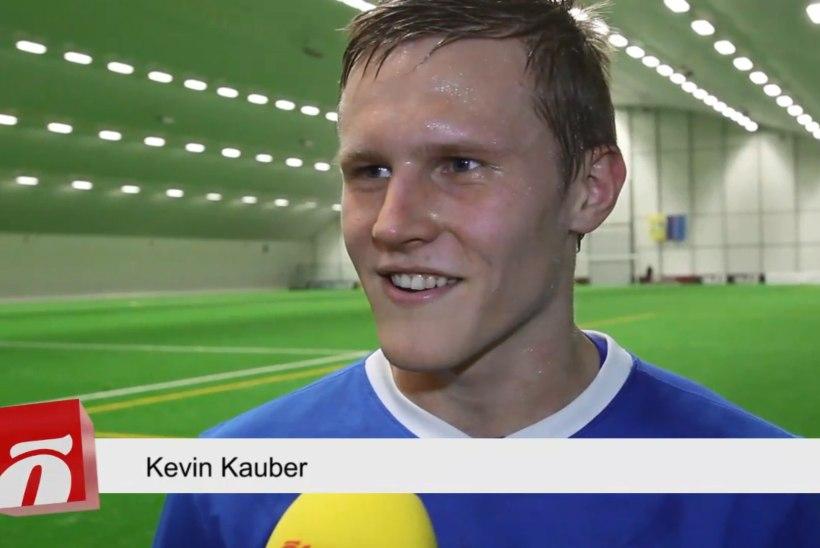 ÕHTULEHE VIDEO | Kaks väravat löönud Kevin Kauber: noored poisid tulid õppima, mida meestekoondis tähendab