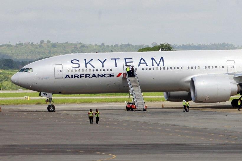 Keenia võimud: Air France'i lennuki pardalt leiti pomm