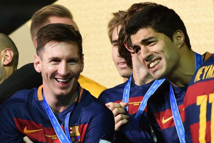 VIDEO   Lionel Messi läks tema pihta sülitanud fänniga peaaegu kaklema