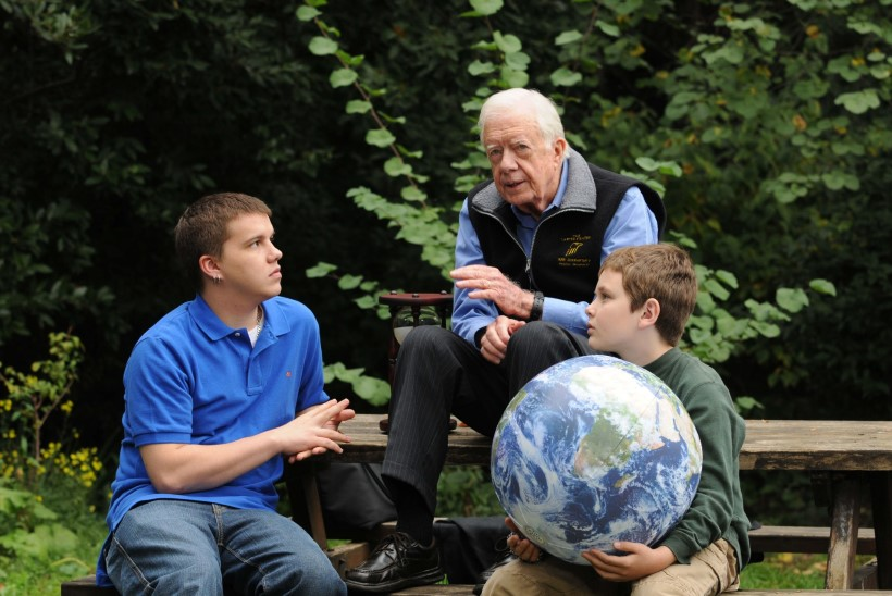 President Carter leinab lapselast