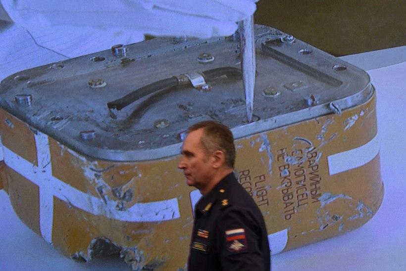 Süüria piiril alla tulistatud Vene sõjalennuki must kast on kahjustatud