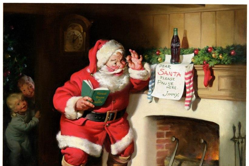 VIDEO | Jõuluvana imagot kujundasid Coca-Cola reklaamid