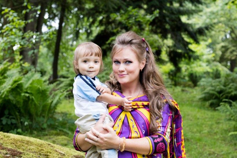"""Airi Kansar: mu tütre nimi Adrika tähendab """"taevalikku"""""""