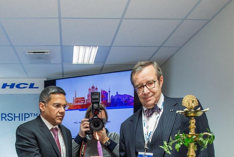 FOTOD   President Ilves avas globaalse IT-ettevõtte HCL Technologies Tallinna arenduskeskuse