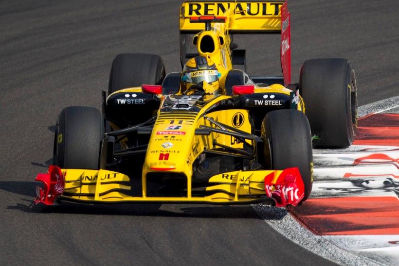 NII SEE JUHTUS | Sport 03.12: Renault ostis Lotuse vormelimeeskonna
