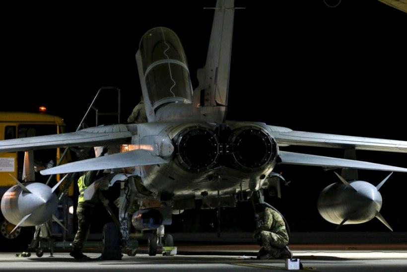 Britid alustasid Süürias õhurünnakuid