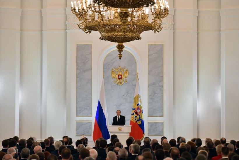 Putin pidas aasta tähtsaima kõne