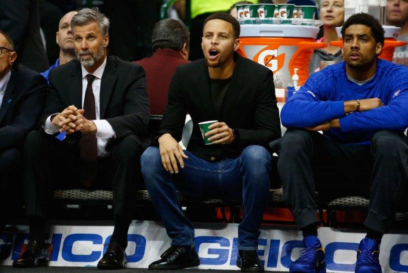 Pole Curryt, pole pidu? Vigastatud liidrita Golden State sai Dallaselt ketuka