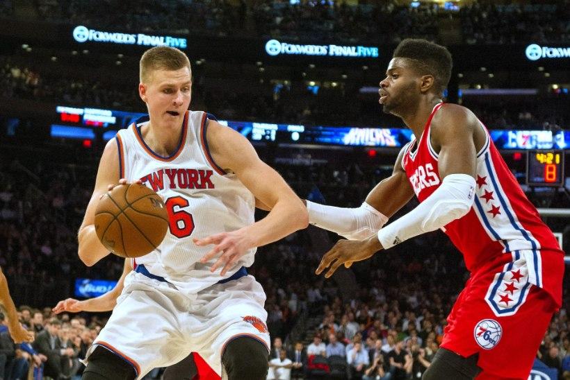 Curry ja George NBAs kuu mängijad, Porzingis parim uustulnuk!