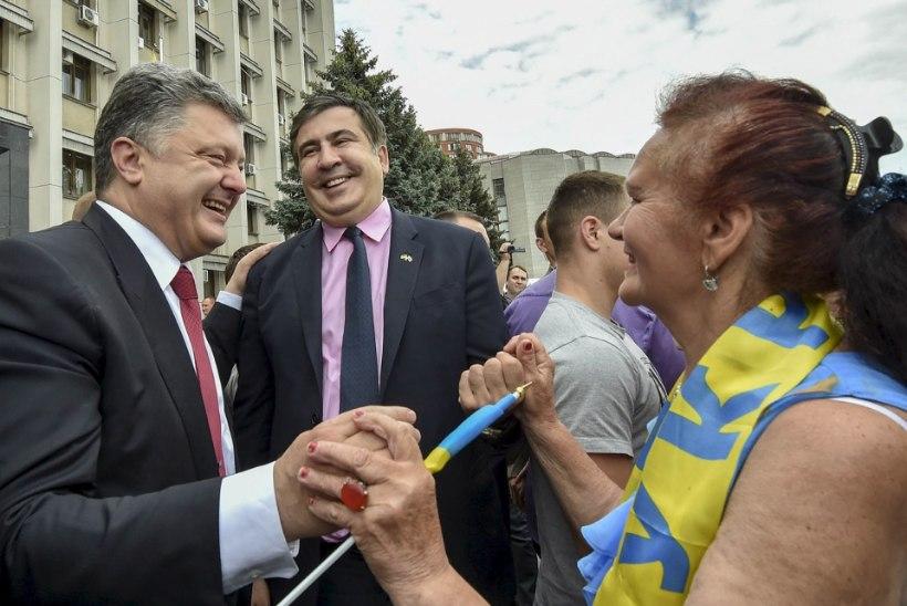 Ekspresident Saakašvililt võeti Gruusia kodakondsus