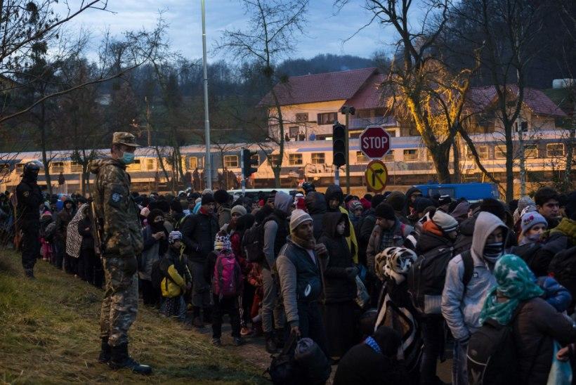 Austria väikelinnas vahistas politsei 25 noort afgaani, kes klaarisid arveid rusikate ja kaigastega