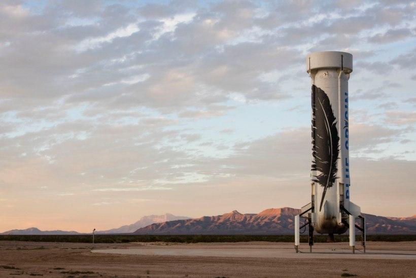 Võidujooks – kellest saab kosmosekuningas?