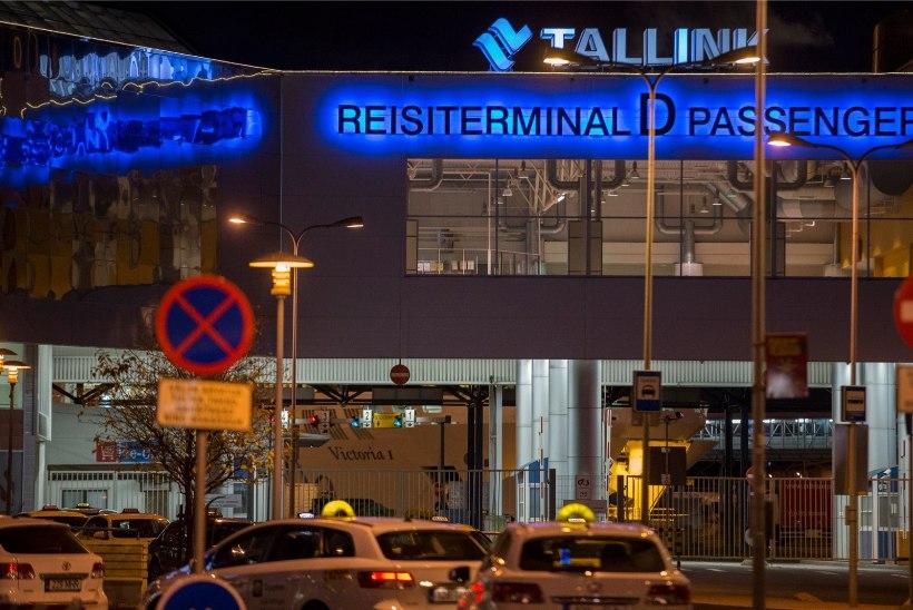 Tallinki reisilaev sai öösel tormis kannatada, laevafirma pakub reisijatele hüvitist